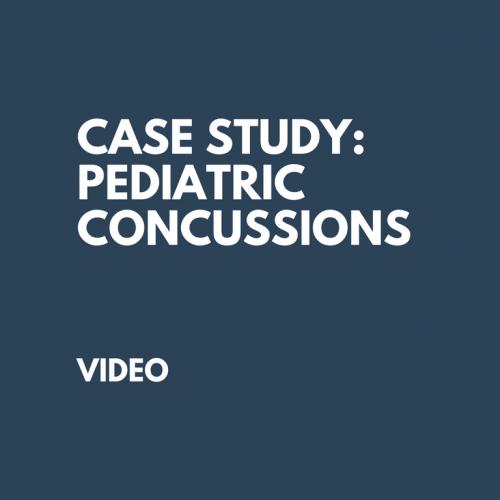 Pediatric Concussions